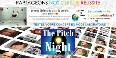 "Pitch night Paris spécial ""EDITION"""