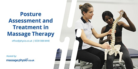 Posture Assessment and Treatment in Massage Therapy - Liverpool tickets