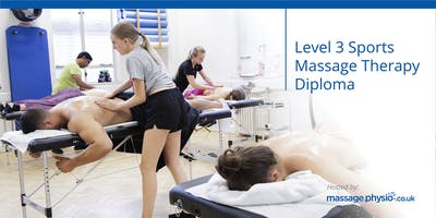 Level 3 Sports Massage Diploma (VTCT)- Liverpool