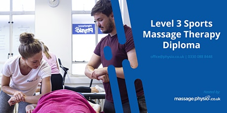 Level 3 Sports Massage Diploma (VTCT) - Manchester