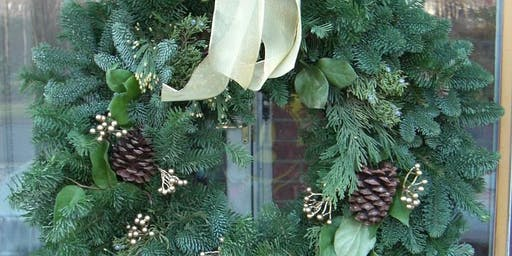 Christmas Wreath Making with Prosecco