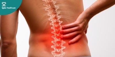 Meet the Expert: Back pain