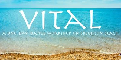 VITAL- a one day workshop- dancing inside/outside on Brighton Beach.