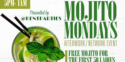 Mojito Mondays AfterWork at Jimmy's; Happy Hour