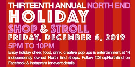 2019 North End Holiday Stroll tickets