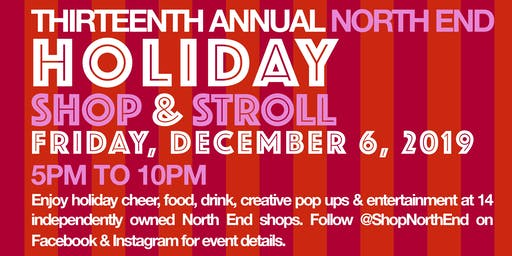 2019 North End Holiday Stroll