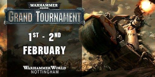 Warhammer 40,000 Grand Tournament, February 2020