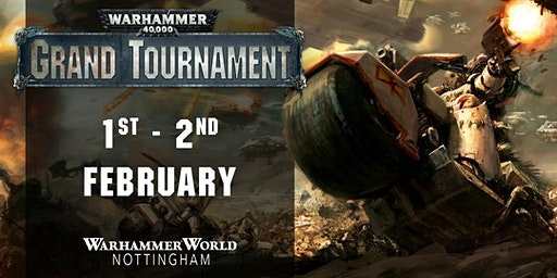 Warhammer 40,000 Grand Tournament, February 2020