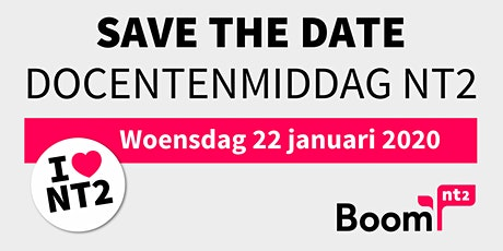 Boom NT2 | Docentenmiddag 2020 tickets