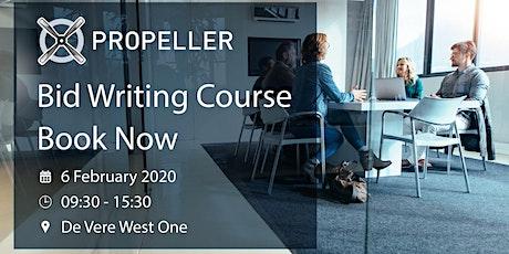 Bid Writing Course - Propeller Studios tickets