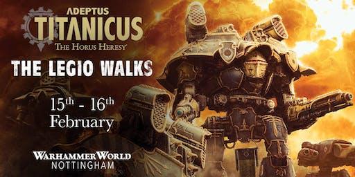 Adeptus Titanicus: The Legio Walks