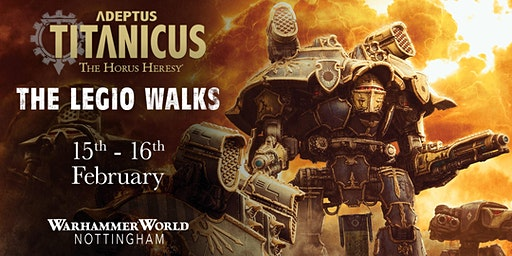 Adeptus Titanicus: The Legio Walks
