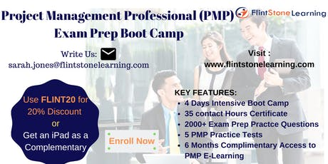 PMP Certification Training Course in Davenport, IA tickets