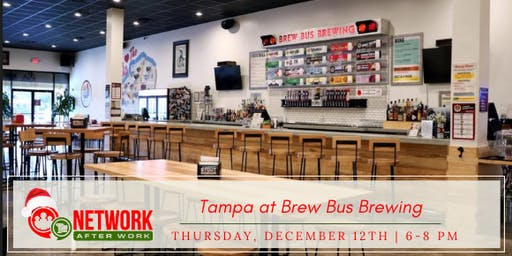 Network After Work Tampa at Brew Bus Brewing