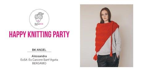 Knitting Party - Adela Shawl - BERGAMO biglietti