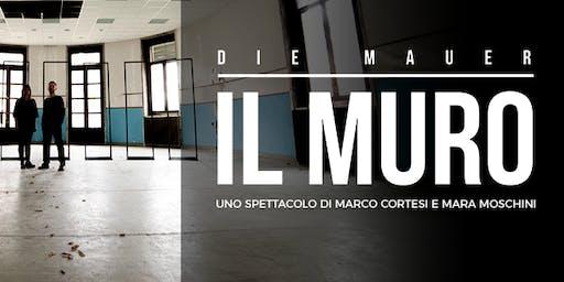 """Spettacolo teatrale """"DIE MAUER - Il Muro"""""""