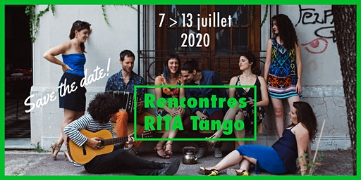Save the Date Rencontres RITA Tango