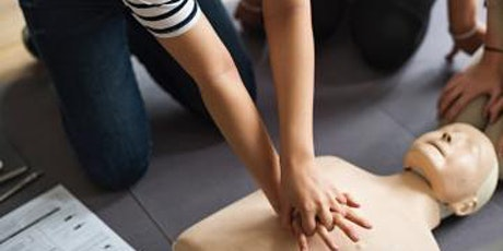 First aid adults: Learn CPR & how to use a defibrillator tickets