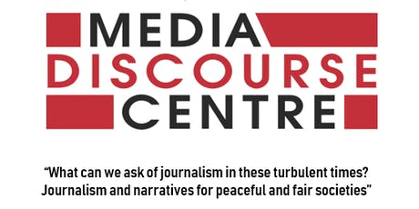 DMU Guest Lecture by Prof. Jake Lynch Co-founder of Peace Journalism tickets