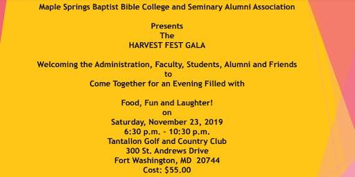 Harvest Fest Gala