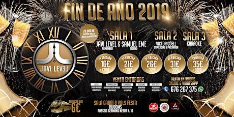 FIN DE AÑO LEVEL 2019 entradas