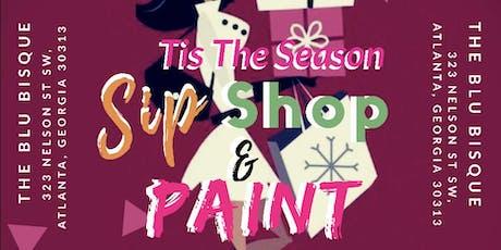 Sip Paint & Shop tickets