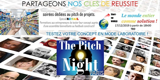 "Pitch night Paris spécial ""RETAIL"""