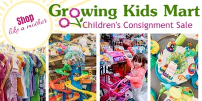 Growing Kids Mart Pop-Up Kids Consignment Event
