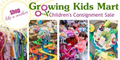 Growing Kids Mart Pop-Up Kids Consignment Event