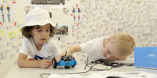 Kostenloser Workshop Robotics mit mBot