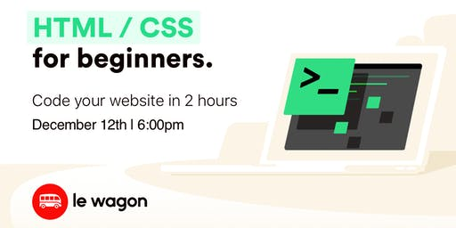 HTML & CSS for beginners - code your website in 2 hours