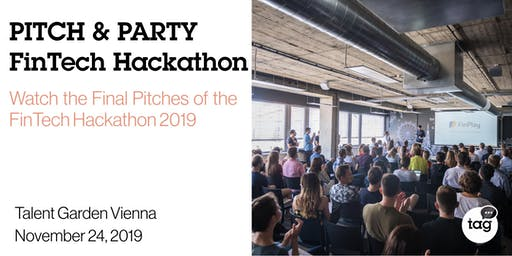 Pitch & Party Fintech Hackathon 2019