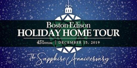 45th Annual Historic Boston-Edison Holiday Home Tour tickets