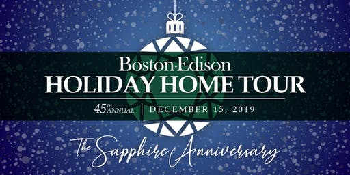 45th Annual Historic Boston-Edison Holiday Home Tour