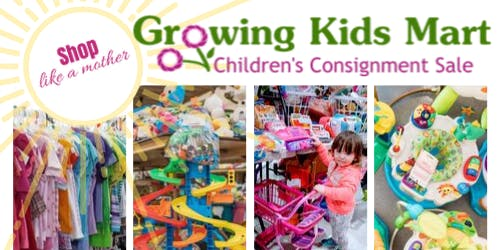 Growing Kids Mart Pop-Up Kids Consignment Sale - Bel Air