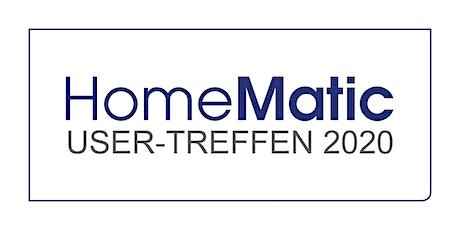 Homematic User-Treffen 2020 Tickets