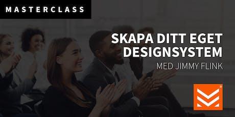 Masterclass: Starta ditt eget Designsystem tickets