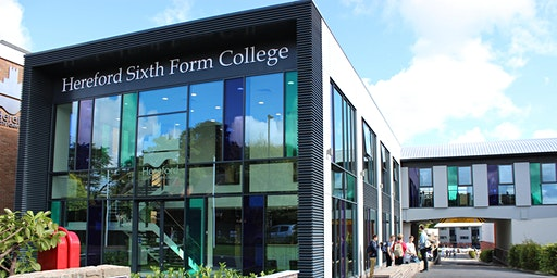 Hereford Sixth Form College Open Morning