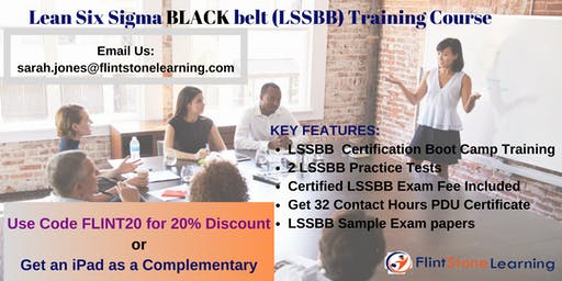 Lean Six Sigma Black Belt(LSSBB) Certification Training in Anderson, CA