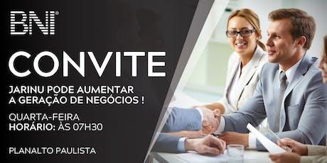 JARINU PODE AUMENTAR  A GERAÇÃO DE NEGÓCIOS!!!! ingressos