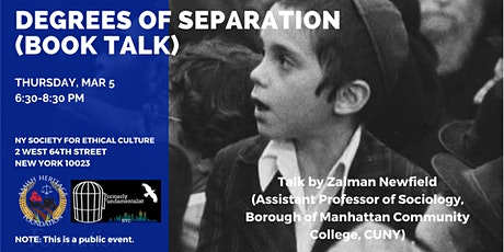 Degrees of Separation (Evening Book Talk) tickets
