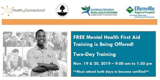 Ulster County Mental Health First Aid Training