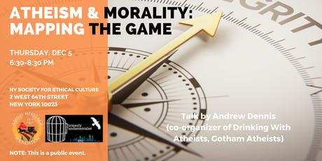 Atheism & Morality: Mapping the Game (Evening Talk) tickets