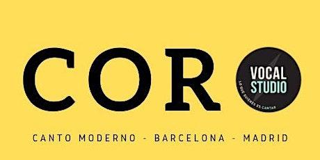 Coro Vocalstudio Barcelona entradas