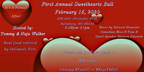 First Annual Sweetheart Dance tickets
