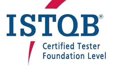 ISTQB CT Foundation Level (czech language) tickets