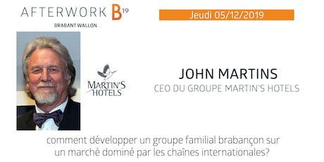 B19 Brabant Wallon - Afterwork - John Martins tickets
