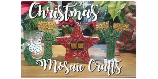DIY Mosaic Christmas Crafts