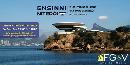 ENSINNI - ENCONTRO DE SÍNDICOS DA CIDADE DE NITERÓI | RJ