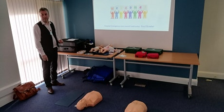 PHECC Cardiac First Responder Course tickets